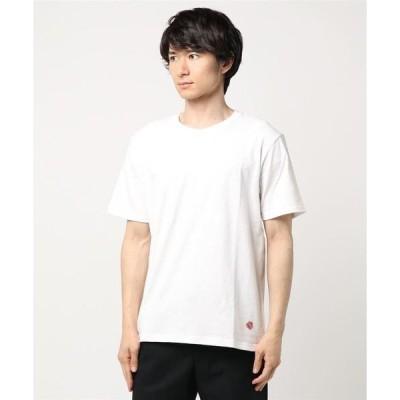 tシャツ Tシャツ ボディー同色スター星柄NIPPONプリント半袖Tシャツカットソー