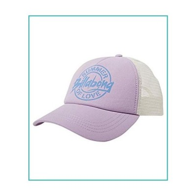 Billabong Women's Aloha Forever Adjustable Trucker Hat with Mesh Back, Lovely Lilac, One【並行輸入品】