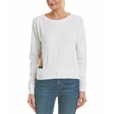 LNA エルエヌエー ファッション トップス Lna Cutout Sweatshirt