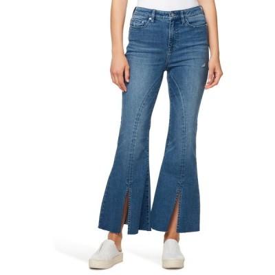 エラモス レディース デニムパンツ ボトムス Kickflare Front Vent Jeans EDIE
