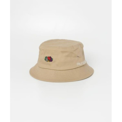 SENSE OF PLACE by URBAN RESEARCH/センスオブプレイス バイ アーバンリサーチ 【WEB限定】FRUIT OF THE LOOM バケットハット BEIGE one