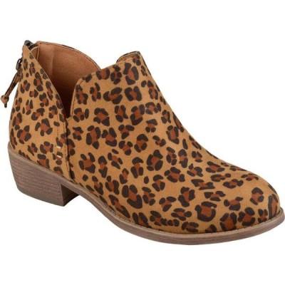 ジュルネ コレクション Journee Collection レディース ブーツ シューズ・靴 Livvy Bootie Leopard