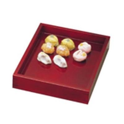 ヤマコー 溜塗菓子番重 小 AKS01003