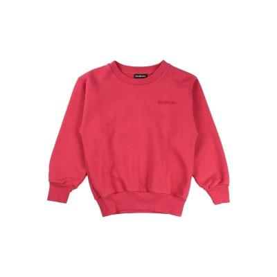 BALENCIAGA KIDS スウェットシャツ レッド 4 コットン 84% / ポリエステル 16% / レーヨン スウェットシャツ