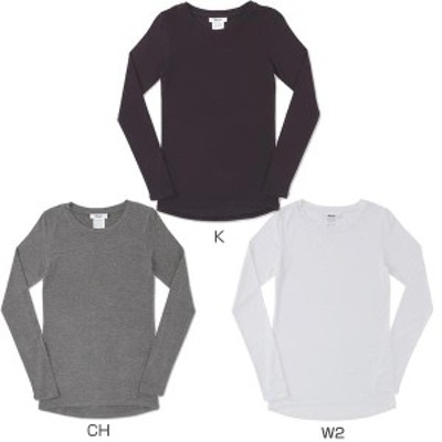 【送料無料】 エムエックスピー MXP レディース 長袖Tシャツ クルーネックシャツ MW15341