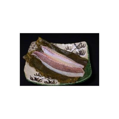 桐生市 ふるさと納税 職人シリーズ 自慢の手造り1品「真鯛昆布〆 お刺身用」