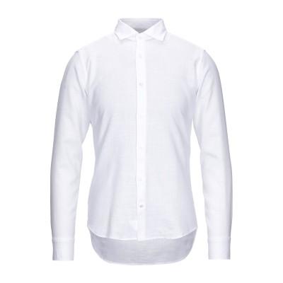ALESSANDRO BONI シャツ ホワイト 40 コットン 100% シャツ