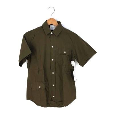 ルーダルトン LOU DALTON ダブルポケット イギリス製 シャツ メンズ S 中古 201125