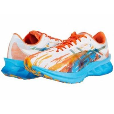 ASICS アシックス メンズ 男性用 シューズ 靴 スニーカー 運動靴 Novablast Silver Aqua/Marigold Orange【送料無料】