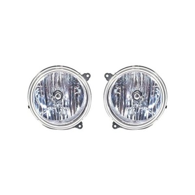 CPP Driver & Passenger Headlights for 2005-2007 Jeep Liberty CH2503156