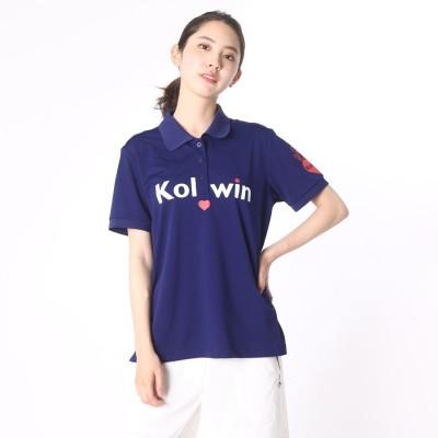コルウィン Kolwin レディース ゴルフ 半袖シャツ kanrisya01
