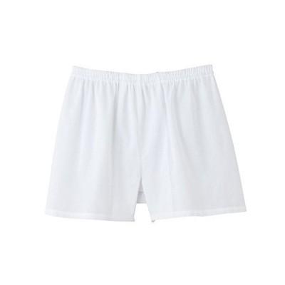 [グンゼ] トランクス 快適工房 綿100% クレープ KH6590 メンズ ホワイト 日本 M (日本サイズM相当)