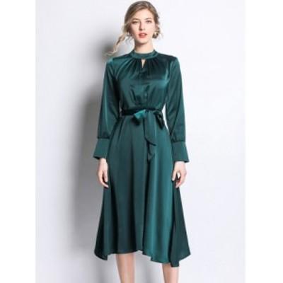フォーマル ドレス ワンピース 2Color ロング*韓国新作*送料込
