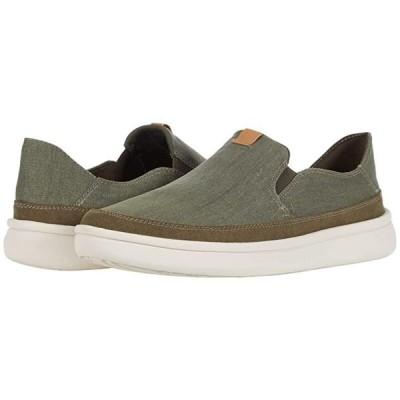 クラークス Cantal Step メンズ スニーカー 靴 シューズ Olive Canvas