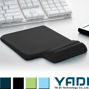 YADI 高緩壓機能護腕滑鼠墊