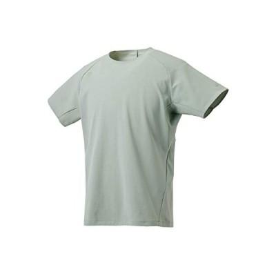 デサント 半袖Tシャツ エンジニアードニット Tシャツ メンズ ベージュ 日本 O (日本サイズ2L相当)