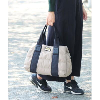 VitaFelice / A4サイズ収納可 キャンバストートバッグ/マザーズバッグ(L) ナイロン/キルティング [sentino/センティノ] トラブルバッグ WOMEN バッグ > ボストンバッグ