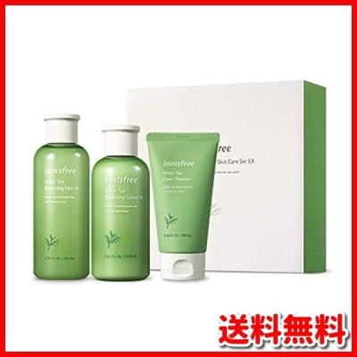 イニスフリー(innisfree) イニスフリー日本公式(innisfree) グリーンティー バランシング スキンケア セット 化粧水