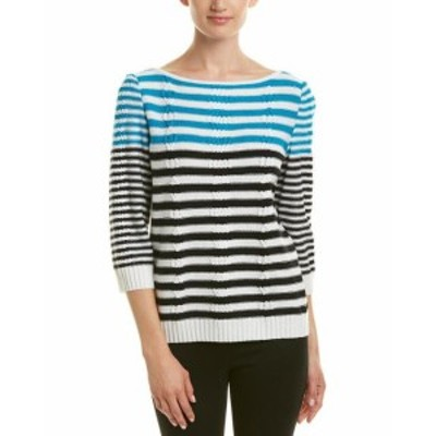 ファッション 衣類 St. John Wool-Blend Sweater L