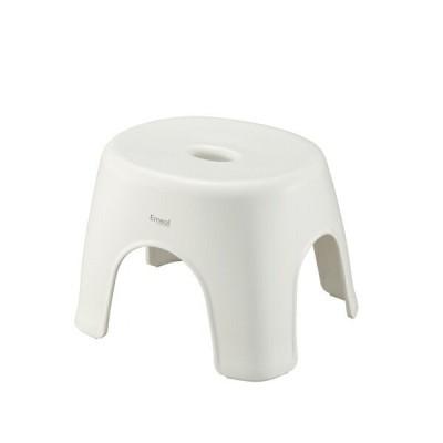 アスベル ASVEL エミール24 W ホワイト 高さ24cm 4974908563096 emeal バス 風呂イス ふろいす 風呂椅子