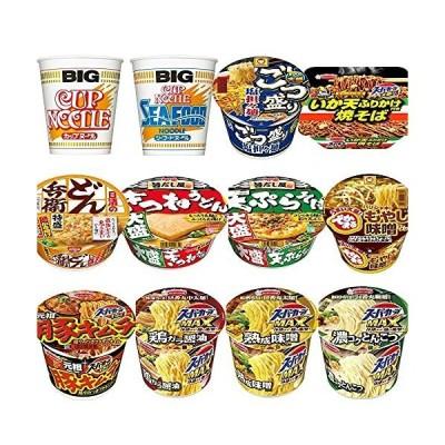 ビッグサイズのカップ麺 12種類 詰め合わせセット
