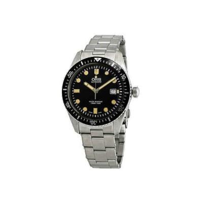 腕時計 オリス メンズ Oris Divers Sixty-Five Automatic Black Dial Men's Watch 01 733 7720 4054-07 8 21