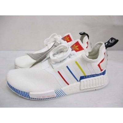 【中古】未使用品 アディダス adidas FY1432 NMD R1 スニーカー シューズ 25.5cm 白 ホワイト 靴 スポーツ タグ付き