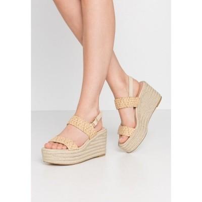 スティーブ マデン サンダル レディース シューズ FOCUSED - High heeled sandals - natural