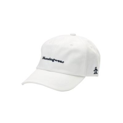 【マンシングウェア】 ワンウォッシュキャップ メンズ ホワイト系 M Munsingwear