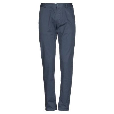 OFFICINA 36 パンツ ブルー 44 コットン 97% / ポリウレタン 3% パンツ