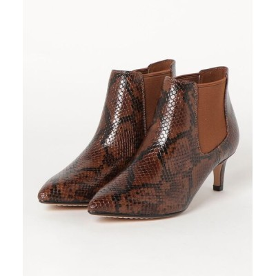 Clarks / Laina55 Boot2 / ライナ55ブーツ2 (ダークタンスネーク) WOMEN シューズ > ブーツ