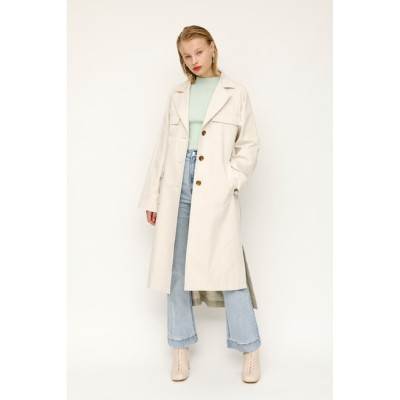 【スライ/SLY】 BI COLOR MILITARY TRENCH コート