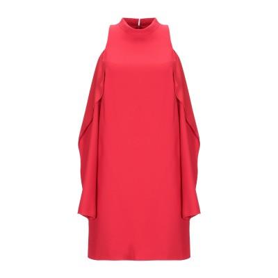ピンコ PINKO ミニワンピース&ドレス レッド 44 100% ポリエステル ミニワンピース&ドレス