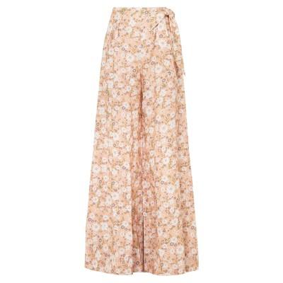 MIGUELINA ロングスカート ローズピンク XS リネン 100% ロングスカート