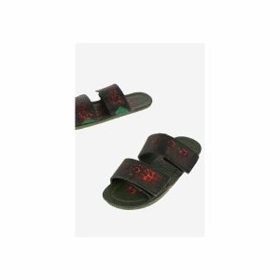 MARNI/マルニ Multicolor レディース leather printed Slippers dk