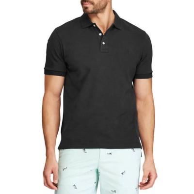 チャップス メンズ シャツ トップス Classic Fit Interlock Polo T-Shirt