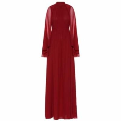 ジャンバティスタ バリ Giambattista Valli レディース パーティードレス ワンピース・ドレス Silk gown Old Burgundy