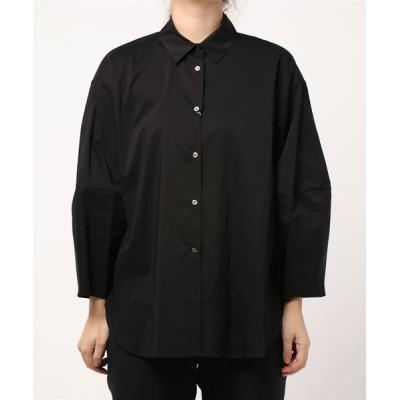 HELIOPOLE / 切り替えスリーブシャツ WOMEN トップス > シャツ/ブラウス