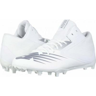 ニューバランス New Balance メンズ シューズ・靴 Rush v2 Mid White/Gunmetal