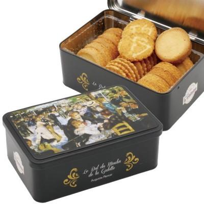 ラ・トリニテーヌ 缶入りクッキー フランス お土産|クッキー ガレット ショートブレッド お菓子 洋菓子 フランス土産 おみやげ