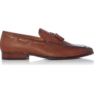 デューン Dune London メンズ ローファー シューズ・靴 simons woven tassel loafers Tan
