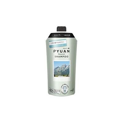 PYUAN(ピュアン) メリットピュアン ナチュラル (Natural) ミンティー&ミュゲの香り シャンプー つめかえ用 340ml 【 シリコーン