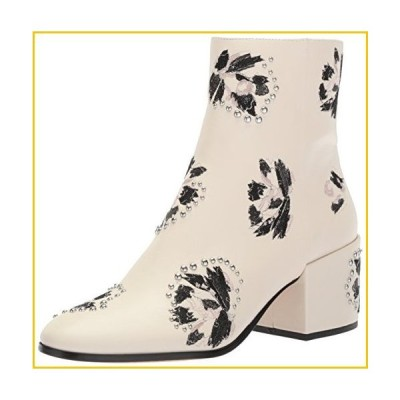 Dolce Vita Women's Mollie Ankle Boot, Ivory, 8.5 M US