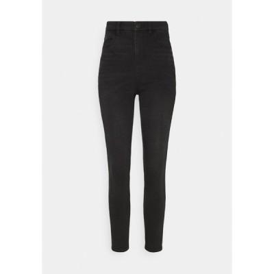 アメリカンイーグル デニムパンツ レディース ボトムス HI RISE - Slim fit jeans - fade to black
