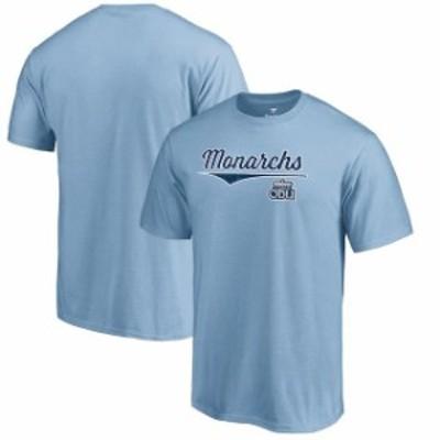 Fanatics Branded ファナティクス ブランド スポーツ用品  Fanatics Branded Old Dominion Monarchs Light Blue American Classic T-Shir