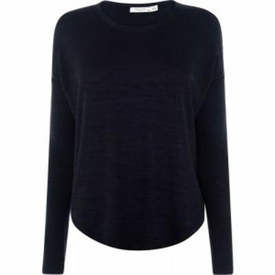 ラグandボーン Rag and Bone レディース 長袖Tシャツ トップス Hudson Long Sleeved T Shirt Black