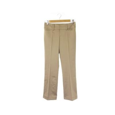 【中古】ノーリーズ Nolley's sophi パンツ スラックス ストレート ローライズ 36 ベージュ /KI16 ☆ レディース 【ベクトル 古着】