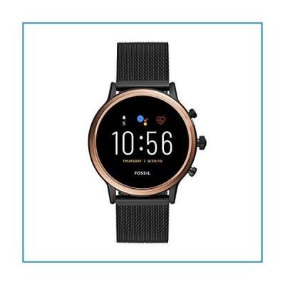 新品Fossil Gen 5 Julianna ステンレススチール タッチスクリーン スマートウォッチ スピーカー、心拍数、GPS