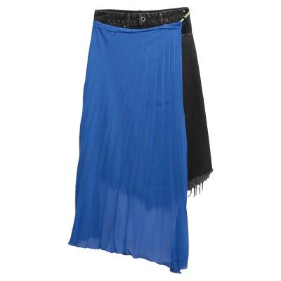 BEN TAVERNITI™ UNRAVEL PROJECT デニムスカート ブラック 25 コットン 100% / ポリエステル デニムスカート