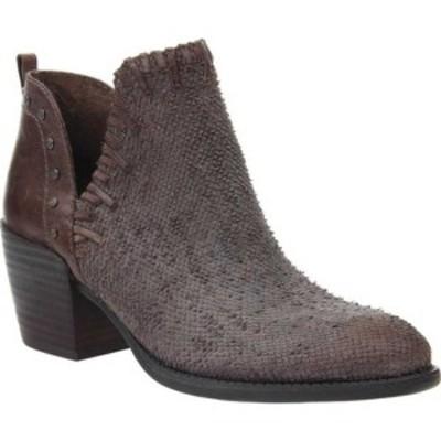 オーティービーティー レディース ブーツ&レインブーツ シューズ Santa Fe Bootie Cinder Textured Leather